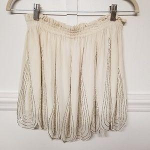 Jack Wills Beaded Skirt Size 6